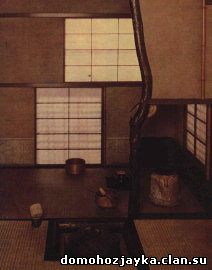 Фурута Орибэ. Павильон для чайной церемонии Эн-ан. Интерьер. Начало XVII в.